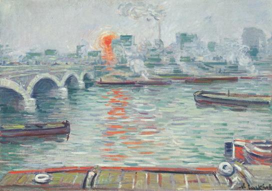 Nikolaj Tarhov - Утро над водой 1904