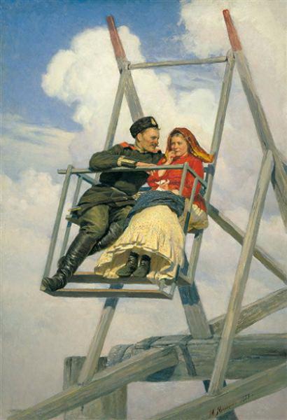 Ярошенко - On the swing