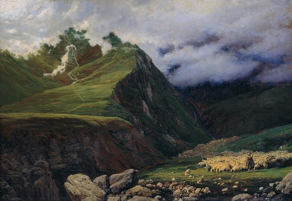 Ярошенко - В горах Кавказа.