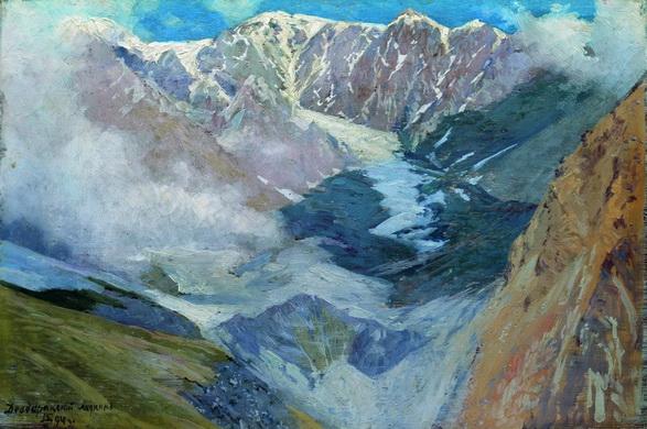 Ярошенко -  Девдоракский ледник.