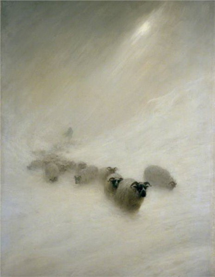 Joseph Farquharson - the stormy blast