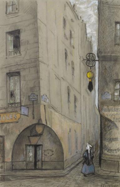 Лукомский Георгий - Улица Мадам. Париж.