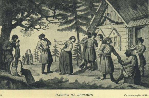 Лукомский Георгий - Пляска в  деревне