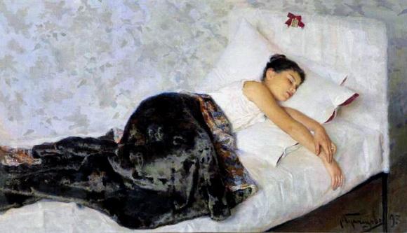 Кузнецов  Николай - Спящая девочка