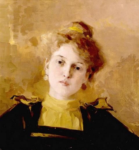 Браз - Портрет молодой женщины