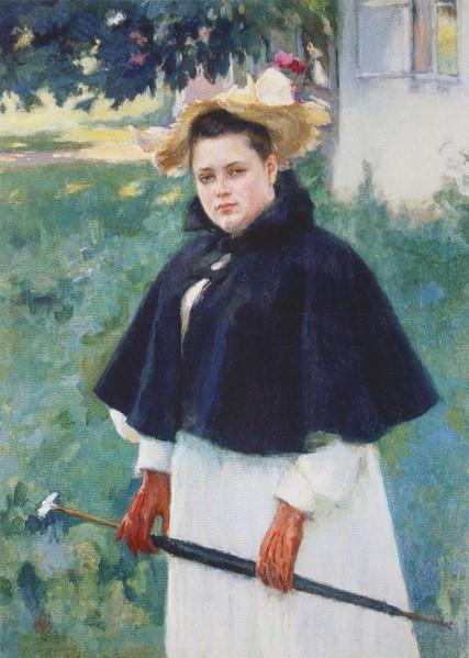 Браз - женский  портрет