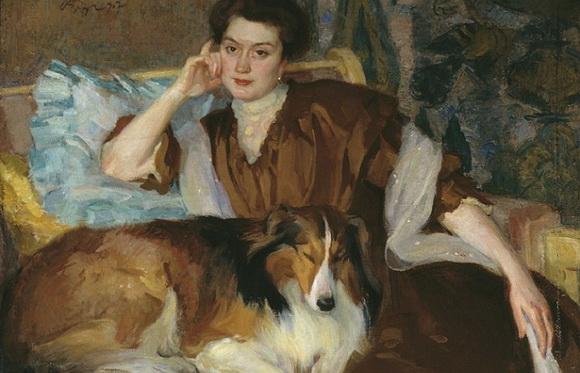 Браз - Портрет жены.