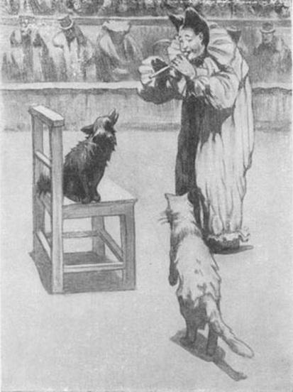 Kardovsky-Иллюстрация к «Каштанке» 2