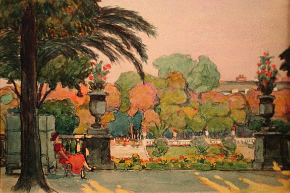 Ганский - Люксембургский сад