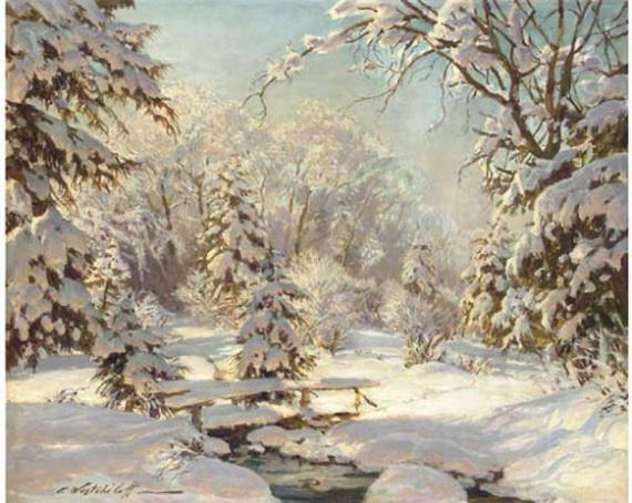 Вещилов Константин -  Зимний  пейхаж