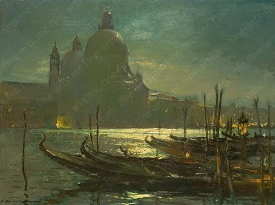 Вещилов Константин -  Венеция ночью