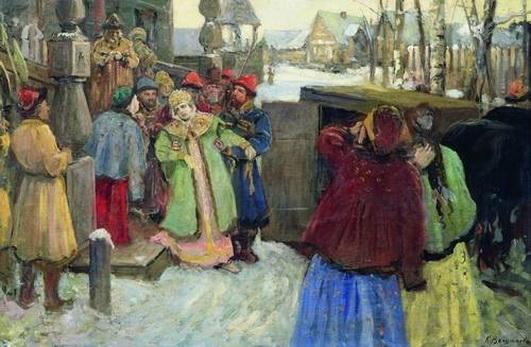 Вещилов - Арест царевны Софьи
