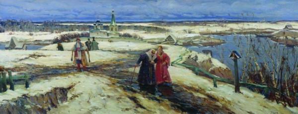Вещилов Константин -  Возвращение из церкви