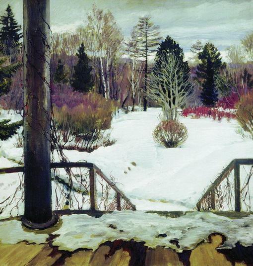 Виноградов Сергей Весна идет. 1911