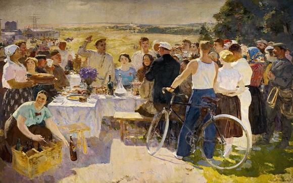 Герасимов - Колхозный  праздник