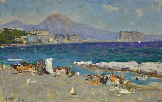 Герасимов - Залив в Неаполе.