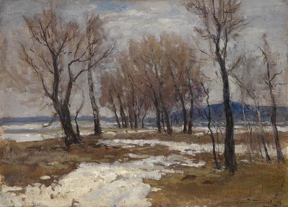 Герасимов - Последний снег