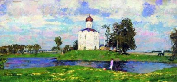 Герасимов - Церковь Покрова на Нерли