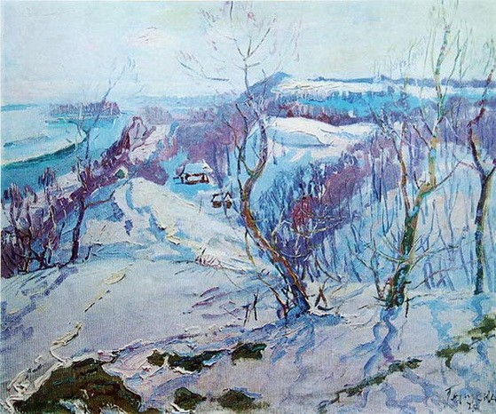 Глущенко Николай - Блакитний березень