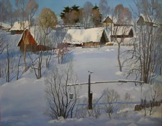 Ахметшин - Зима в деревне Тереклы