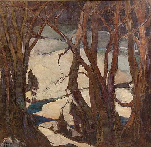 Alexander O. Levy - Winter Twilight #19