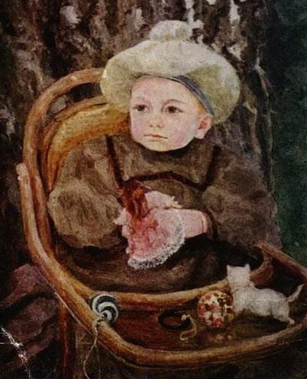 Малютин Сергей - Ребенок в кресле