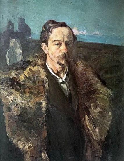 Малютин Сергей - Автопортрет в шубе