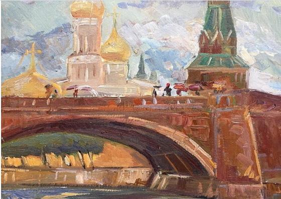 Арапов - Москва. Кремль.