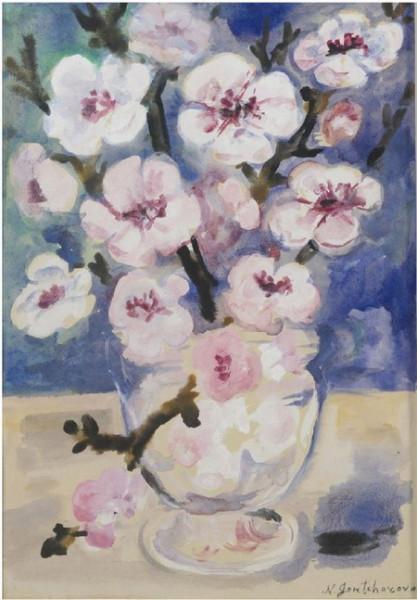 Гончарова - dogwood blossoms