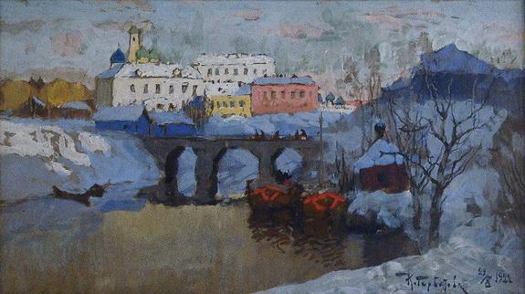 Konstantin Gorbatov  ЗИМНЕЕ УТРО