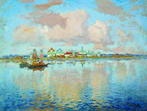 Konstantin Gorbatov Ростов Великий. На озере Неро.