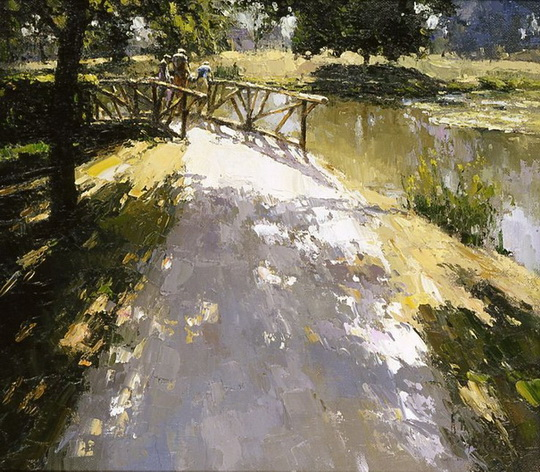 Зайцев Алексей   Pond in Versailles