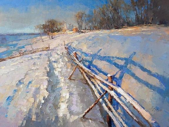 Зайцев Алексей  Winter Landscape