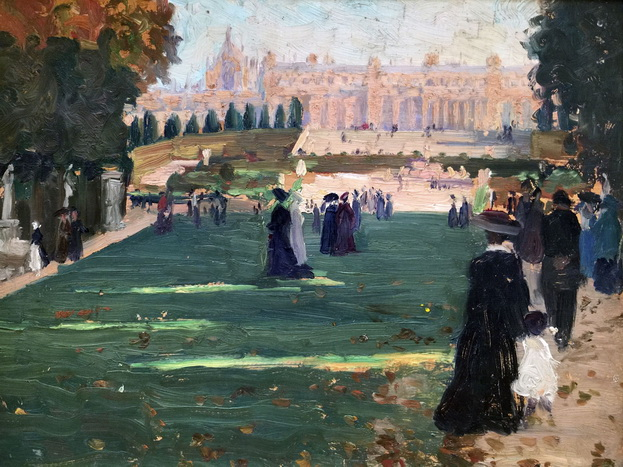 Ethel Carrick Fox - Royal Avenue, Versailles