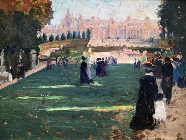 Ethel Carrick Fox - Royal Avenue, Versailles