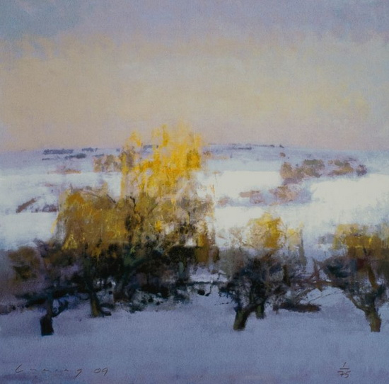 Fred Cuming - Winter Landscape