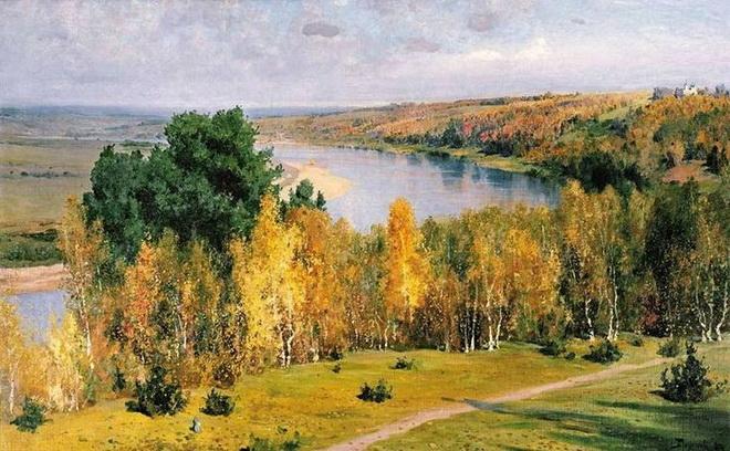 Vasiliy Polenov - Zolotaja osen