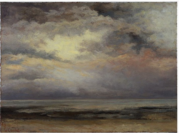 Gustave Courbet - L Immensite