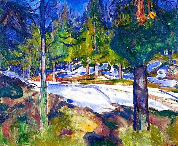Edvard Munch  -   Forest