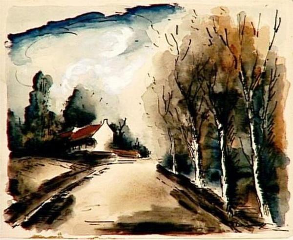 Maurice de Vlaminck - A road