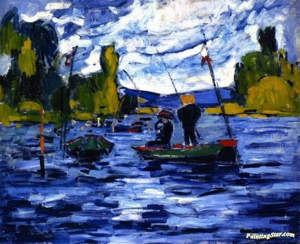 Maurice de Vlaminck - Fishermen