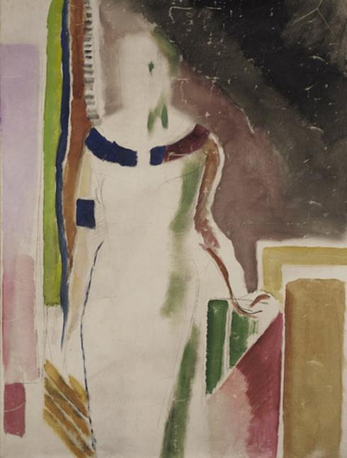 Arthur B. Carles -  Study for Helen Taylor