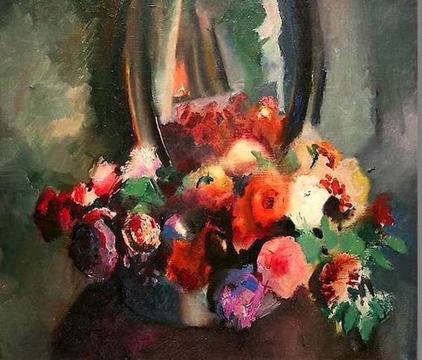 Arthur B. Carles - Bouquet of Flowers
