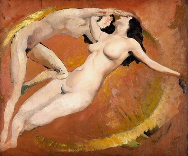 Arthur B. Carles - TWO FEMALE NUDES