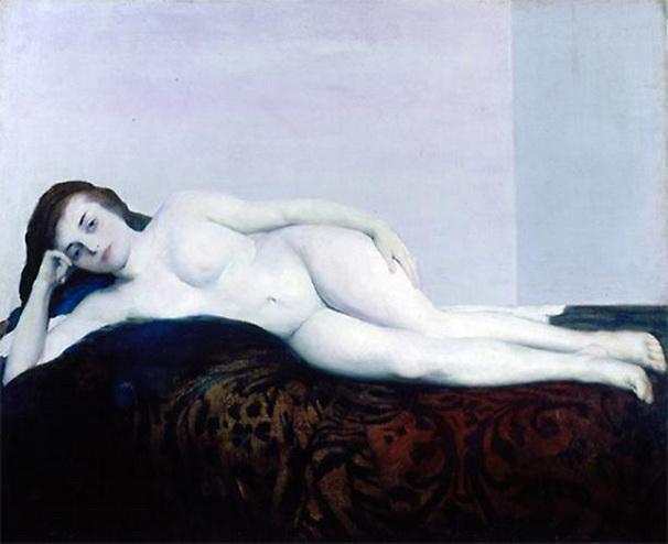 Arthur B. Carles - White Nude