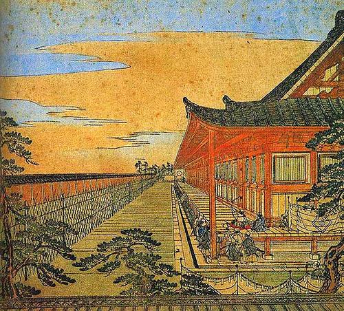 Kyoto, Sanjusangendo uki-e