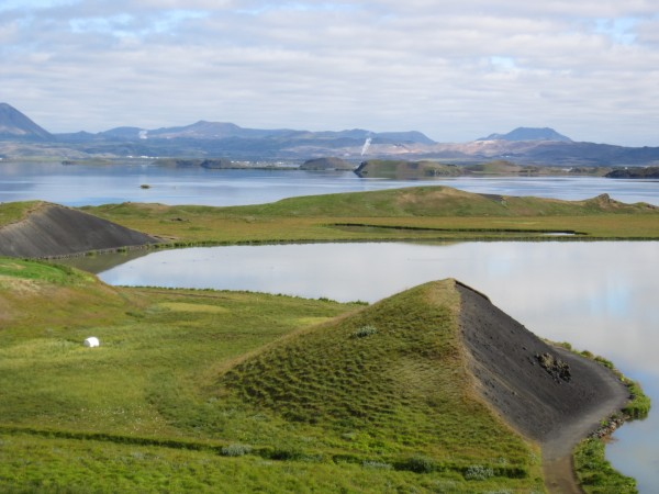 Озеро Myvatn
