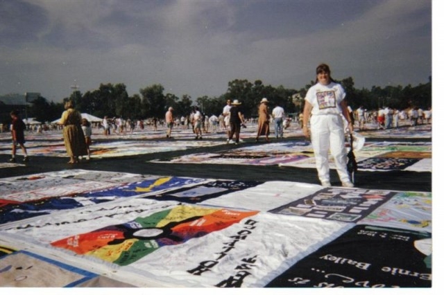 Quilt at the Rose Bowl