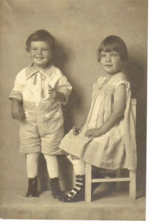 My mom and her brother