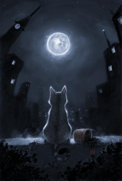 cat_moon_by_henkkab-d5qr6ev